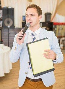 Отзывы ведущий на свадьбу, корпоратив, праздник Алексей