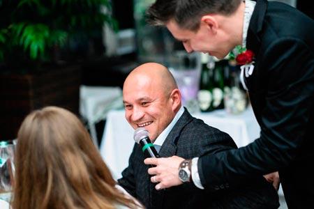 Ведущий на свадьбу, корпоратив, праздник Александр